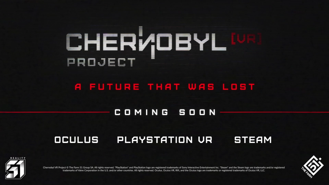 CHERNOBYL VR PROJECT NA PLAYSTATION VR