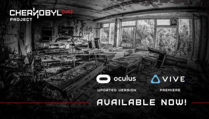 Chernobyl VR Project Launches with New Features on HTC Vive - Oculus Rift Edition Updated